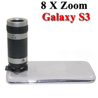 Telescope 8 X Zoom Camera Lens case cover for Samsung Galaxy S3 S III i9300 GT-I9300