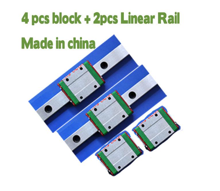Линейные направляющие Other 15 L1200mm 2 + 4 MGN15C линейные направляющие lz 2 sbr12 500 4 sbr12uu cnc diy