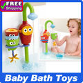 New Arrival  in stock ! Yookidoo baby bath toys Flow 'N' Fill Spout buttressed music spray shower Free Shipping(China (Mainland))