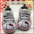 Free Shipping Wholesale Lovely Cat Baby Soft Sole Shoe Hello Kitty Kids Shoes Toddler Shoes Baby Girl(China (Mainland))