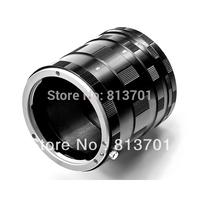 Metal Macro Extension Tube Ring Adapters Set For EF DSLR SLR Camera Lens 50D 40D 30D 600D 7D canon eos Rebel T1i XTi XS
