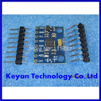 Free  Shipping  X 5PCS/LOT   GY-521, MPU-6050 Module ,MPU6050 module ,3 Axis analog gyro sensors+ 3 Axis Accelerometer Module