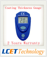 New Digital Coating Thickness Gauge device Paint Thickness Meter Paint care 0-80mil Aluminium base and Fn