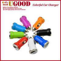 Hot Selling Universal USB Car Cigarette Lighter Car Charger Random Color (12-24V)