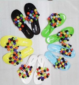2013 ladies shoes sandals flat heel grape slippers flat grape slippers bubble flip flops flat sandals