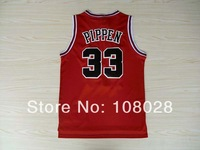 #33 Scottie Pippen Jersey,Rev 30 Throwback Basketball Jersey Cheap Authentic Jersey Stitched Logo Embroidery Sport Jersey