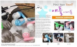 Free shipping Many color 3.5MM Earphone Headphone For iPod MP3 MP4 32GB CD Player PSP 20pcs/lot(China (Mainland))