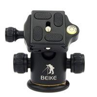 Aluminum BK-03 Tripod Ball Head Ballhead + Quick Release Plate Pro Camera Tripod Max load to 8kg