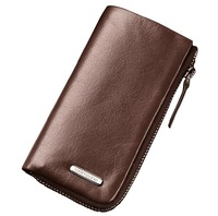 2013 New arrival TZ 11-312 Men key wallet cowhide 100% genuine leather women key holder case casual keychain key bag