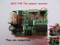 Free shipping mjx toys RC helicopter F645 F-45 F45-019 Receiving PCB Board circuit board (For New receiver F45)