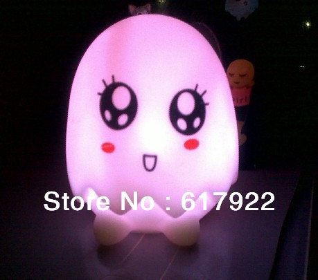 2013 10 pieces/lot colorful egg shell little light charming small night lamp new sleep color light(China (Mainland))