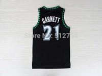 #21 Kevin Garnett Jersey,Rev 30 Throwback Basketball Jersey,Best quality,Authentic Jersey,Size S--XXXL,Accept Mix Order