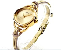 YIWU hot sell ! fashion women watches 10 colors Leather Strap Watch Birthday party gift FREE SHIPPING