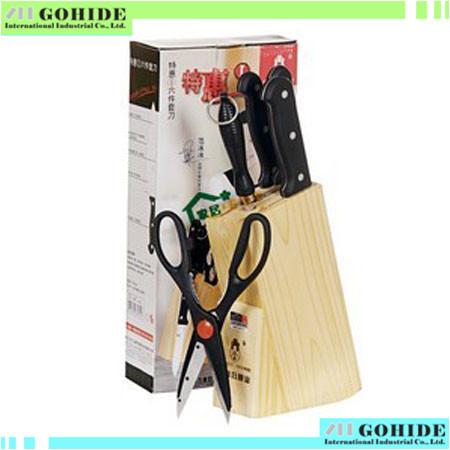 6pcs Set Kitchen Cutting Tools Kitchen Knife Sets