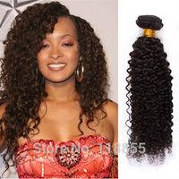 Peruvian virgin culry hair afro kinky curly hair weave 4pcs 400g 1b cheap unprocessed loose deep curly hair 12-28 free shipping