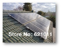 tsunenergy 2000W home solar power system, solar generaror include solar panel, battery, 2kw inverter and other parts