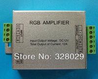 New 2014 LED RGB Strip Amplifier DC12V 12A Led Amplifier Led RGB Strip Amplifier Controller Console Controle Free Shipping