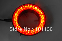 Wonderful Red Light 60 Led Lamps Ring Lamp used on Stereo Biological Zoom Stereo Microscope Parts with Adapter 220V or 110V
