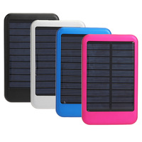 New!!5000MAH Solar Battery Panel Charger Mobile Power bank External Battery Charger for nokia iPhone 20pcs/lot Free shipping