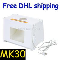 "Professional Portable SANOTO 12""x8"" Mini Kit Photo Photography Studio Light Box Softbox MK30"