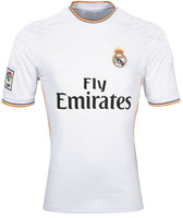 Free Shipping Wholesale And Retail Real Madrid Home Jersey 2013 2014 Thailand Quality Football Jerseys