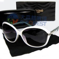 Free Shipping New Arrival Designer  Round High Fashion Sunglasses Women Retail Sunglasses 2055