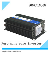 CleanPower Brand DC to AC Pure Sine Wave Mobile Power inverter 500W(CP-P-500W)