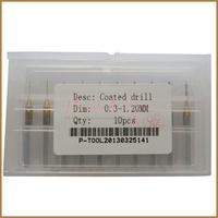 10pcs 0.30-1.20MM Coated PCB Drill , Coated Drill Bit ,  CNC  Drill , Drill Bit Set ,  Free Shipping