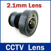 High Quantity Security 1/3 Wide Range lens  2.1mm 150 degrees wide angle 1 Lens for IR CCTV Camera