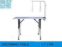Height adjust pet grooming table Folding trimming table stainless steel grooming table