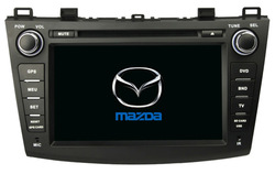 "HD 8 ""touch screen/ dvd/ ipod/ radio/ RDS/bluetooth/ analog tv/ gps navi/ dual zone/ steering/ usb sd slot for mazda3 CAR DVDGPS(China (Mainland))"