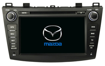 for Mazda 3 Car DVD GPS navigation with Canbus Radio BT IPOD USB/SD 3G WIFI Free shipping by DHL/EMS