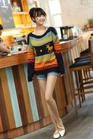 Free Shipping, 2013 South Korean Style Loose Shirt Sweater Sweater Shirt Jacket Women Milu Deer