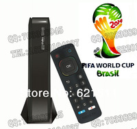 Maige tv HD2S iptv box HD player Wifi Brazil World Cup Live Gift wireless card DHL free shipping