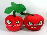 wholesale Brand New Plants vs. Zombies Plush Toy Cherry Bomb   Figure doll