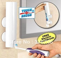 Free Shipping 150pcs/lot Magic Toothpaste Dispenser Touch N Brush As Seen On TV Hands Free Automatic Toothpaste Dispenser