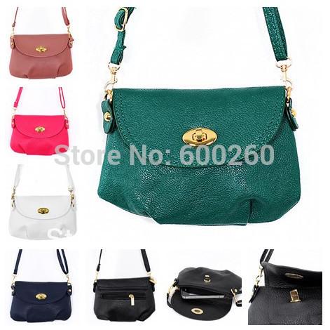 Women's Handbag Satchel Shoulder leather Messenger Cross Body Bag Purse Tote Bags Wholesale , Free Shipping#5350(China (Mainland))