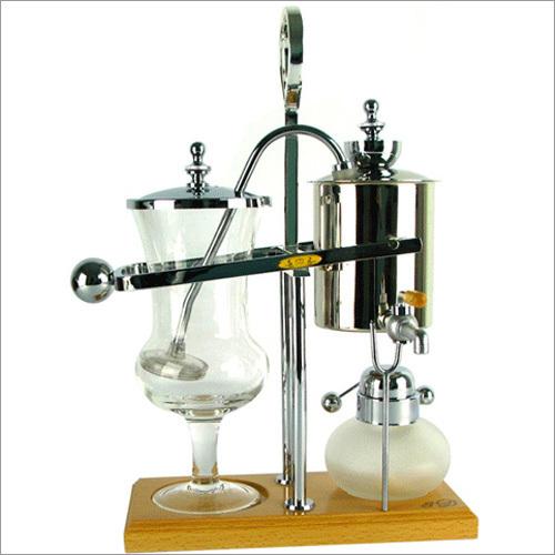 8D- B Slivery Belgian Royal Balance Coffee Maker -Siphon Cafe' Chemistry BRAND NEW!!(China (Mainland))