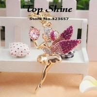 2014 Sale Keychains Fashion Jewelry Crystal Angel Keychian Car Keychain Women 18k Plated Handbag Gift Hot-selling New Style