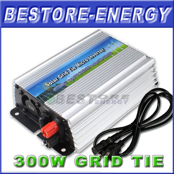 Hot Sell, 300W Grid Tied Inverter, 12V/24V Pure Sine Wave Inverter for Solar Power System, CE & RoHS