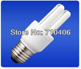 enrgy saving lamp  fluorescent bulb 2u 7w E27  6400K white light