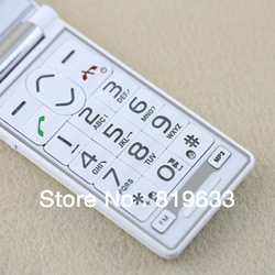 Free Shipping Senior Cell phone Elderly Mobile Big Button Large Font Loud Volume SOS Call With camera GSM for World Wide USE(China (Mainland))