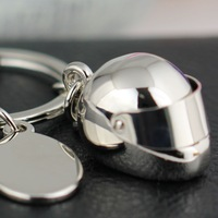 M86044 Creative Model Motorcycle Bicycle Helmet Keychain Key Chain Ring Keyring Key Ring