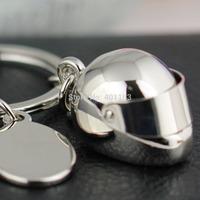 M86044 Creative Model Motorcycle Bicycle Helmet Keychain Key Chain Ring Keyring Key Ring