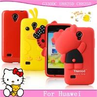 For HUAWEI g330dc mobile phone case for huawei u8825d phone case  for huawei c8825d protective case silica gel set soft cartoon