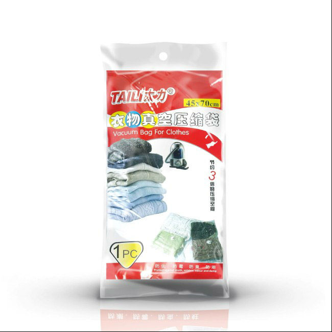 Wholesale Vacuum Storage Bags Small Vacuum Compressed Home Organizer Bag Travel Space saving garment bags for clothes 12pcs/lot(China (Mainland))