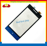 Original for HTC 8S A620e Touch Screen Digitizer Glass Black and Blue Color Free Shipping By HK Post.