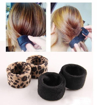 2013 New Style Black Cliona Hair Accessaries Villus Transformable Hair Band Hairdisk SF084
