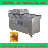 DZ600-D,dual-chamber plastic bag vacuum packaging machine,package sealing&shrinking sealer&shrinker equipment food/fruits saver