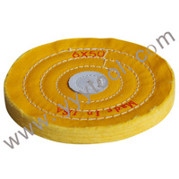 "Free Shipping !!  yellow buffing whees 6"" X50 , Polishing buffing wheels , Jewelry polishing tools"